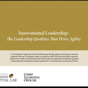 Innovational Leadership White Paper